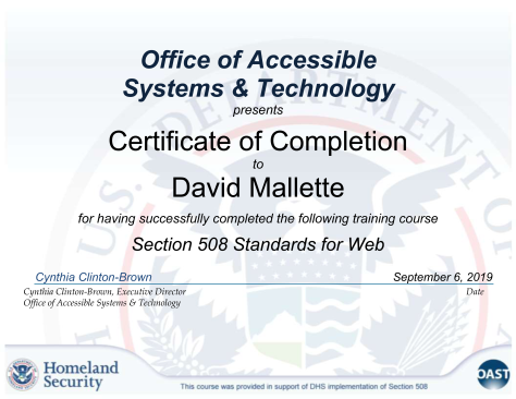 508_Web_Standards_Section_508_Standards_for_Web_-_Completion_Certificate_(refresh_page_after_selecting_link)_5852